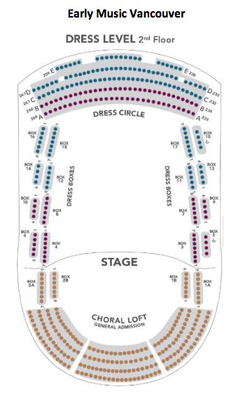The Chan Centre Seating 2