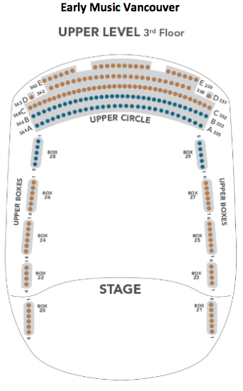 The Chan Centre Seating 3