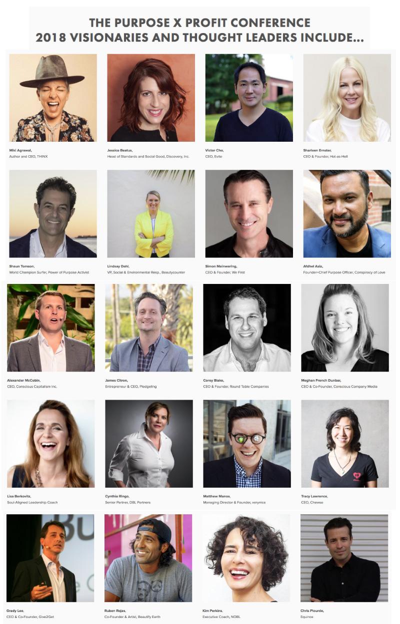PURPOSE X PROFIT 2018 - Social Enterprise Alliance Los Angeles