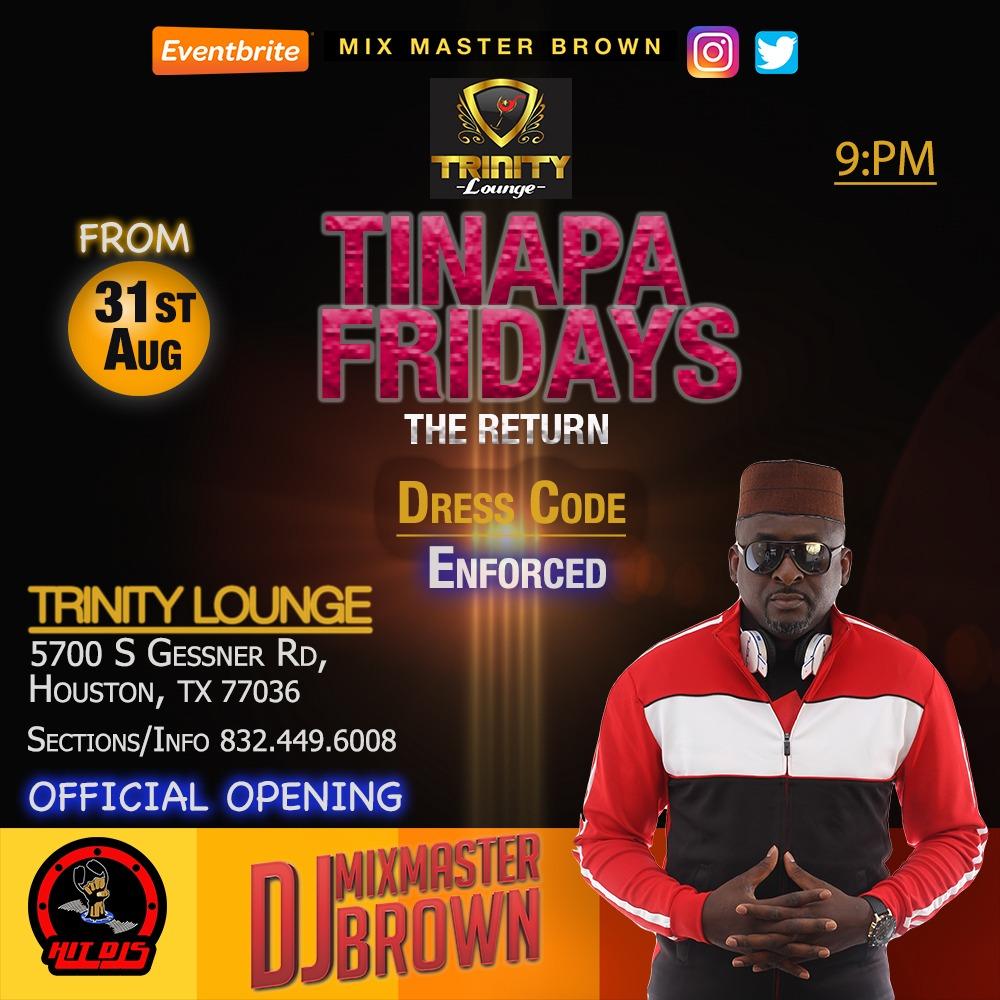 Tinapa Fridays At Trinity Lounge