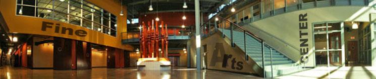 Fine Arts Center Atrium