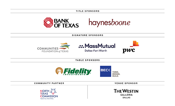Diversity and Inclusion Sponsors