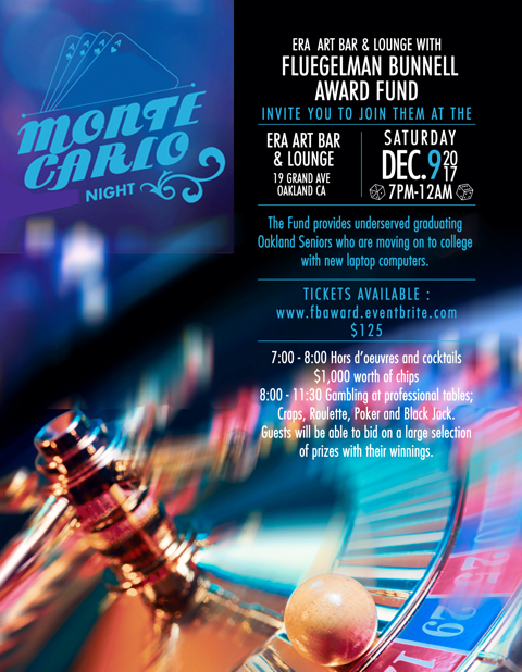 Monte Carlo Night @ ERA