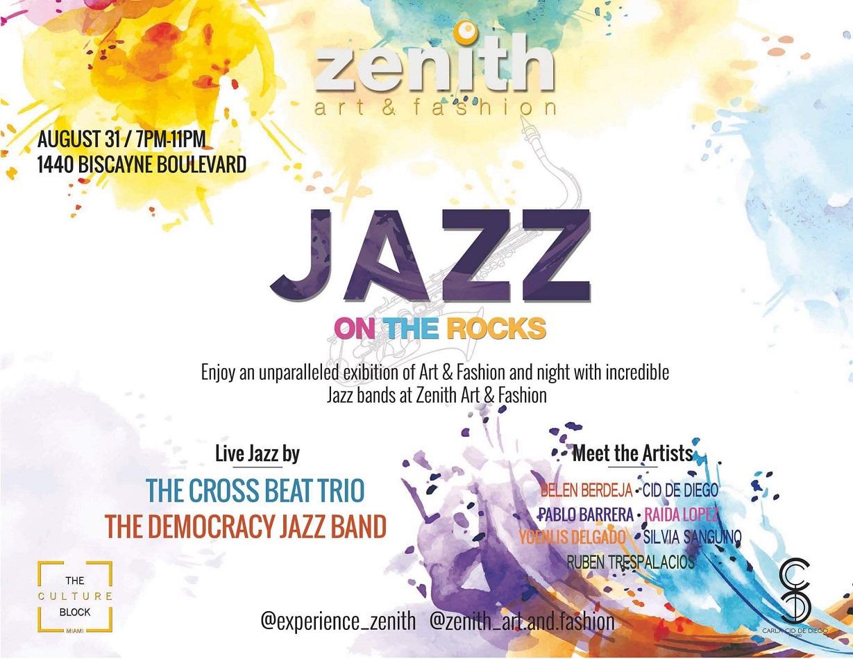 Jazz on the Rocks flyer