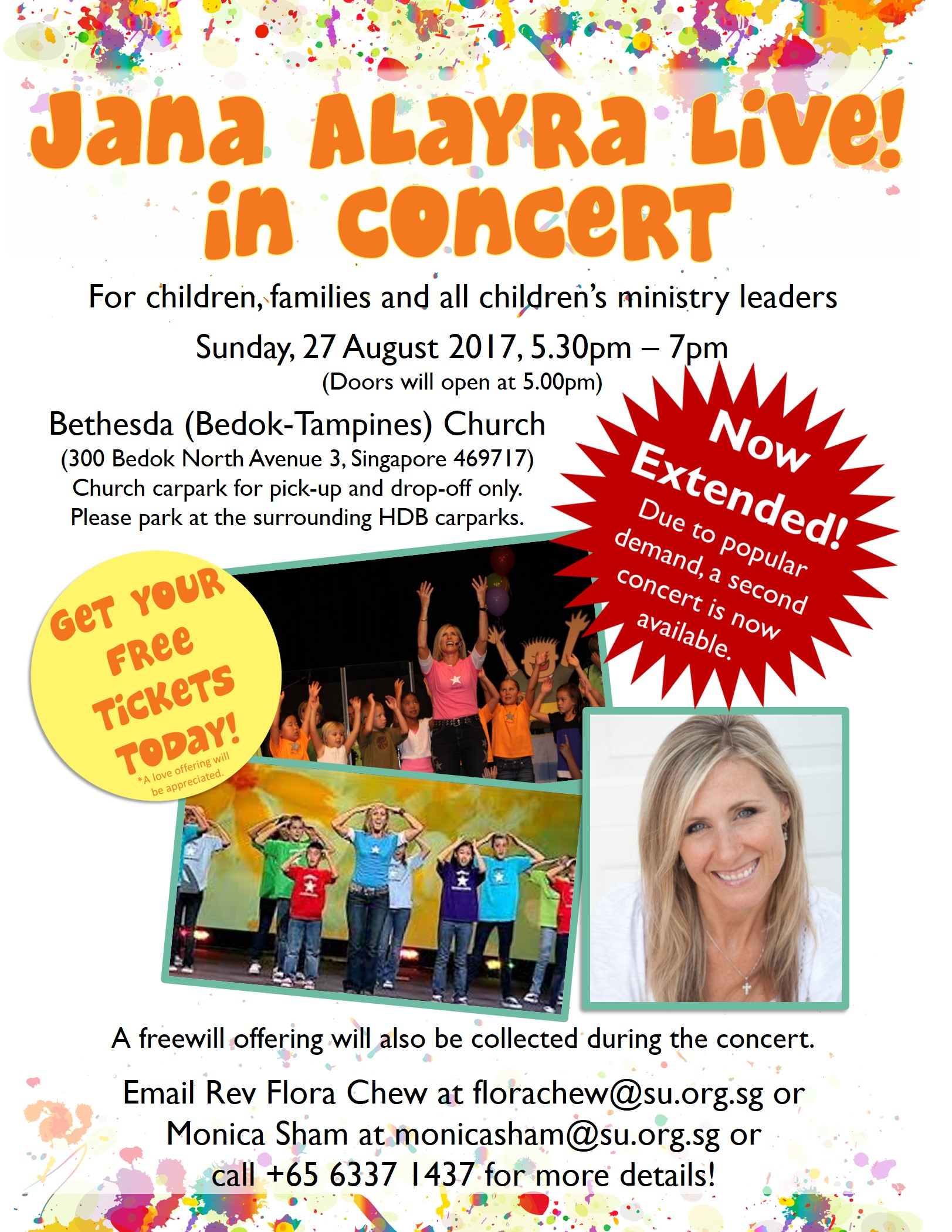 Jana's 2nd concert on 27 Aug