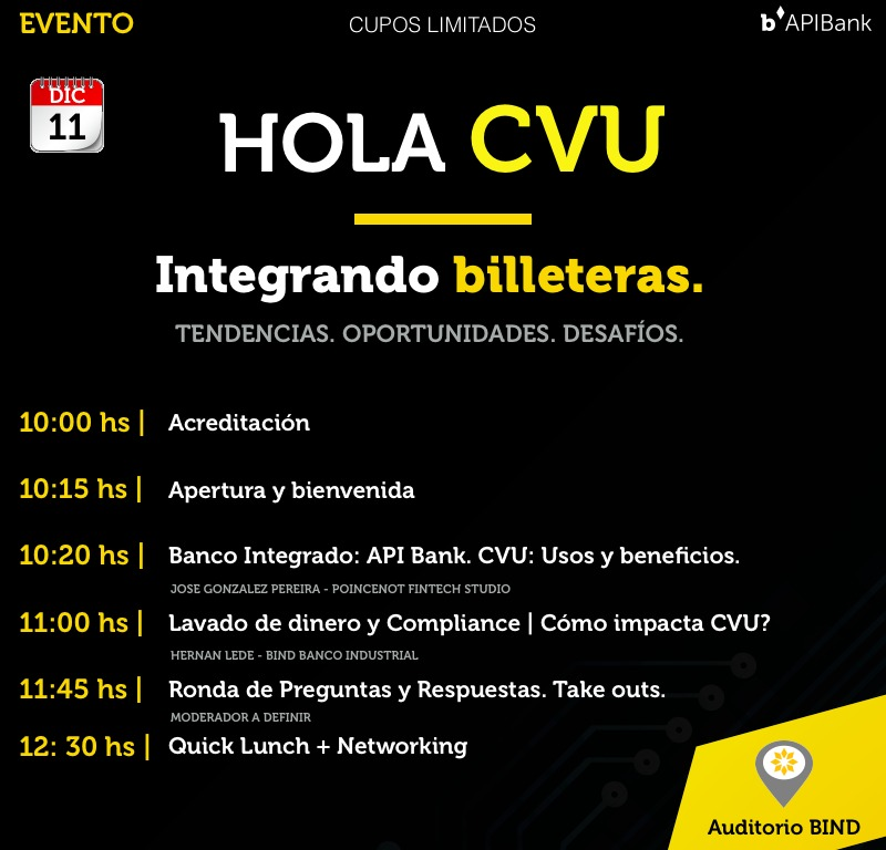 Agenda HOLA CVU