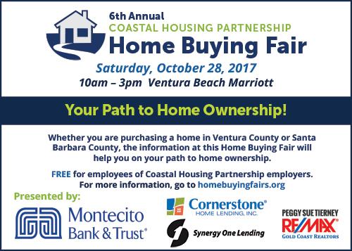 Home Buying Fair in Ventura October 28 info and logos
