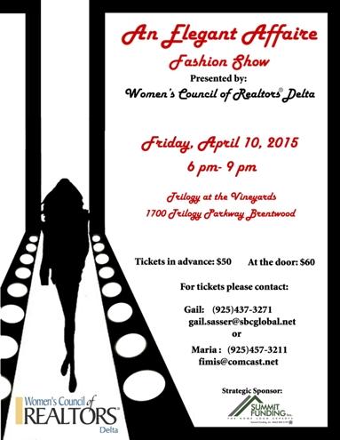 WCR Delta Fashion Show