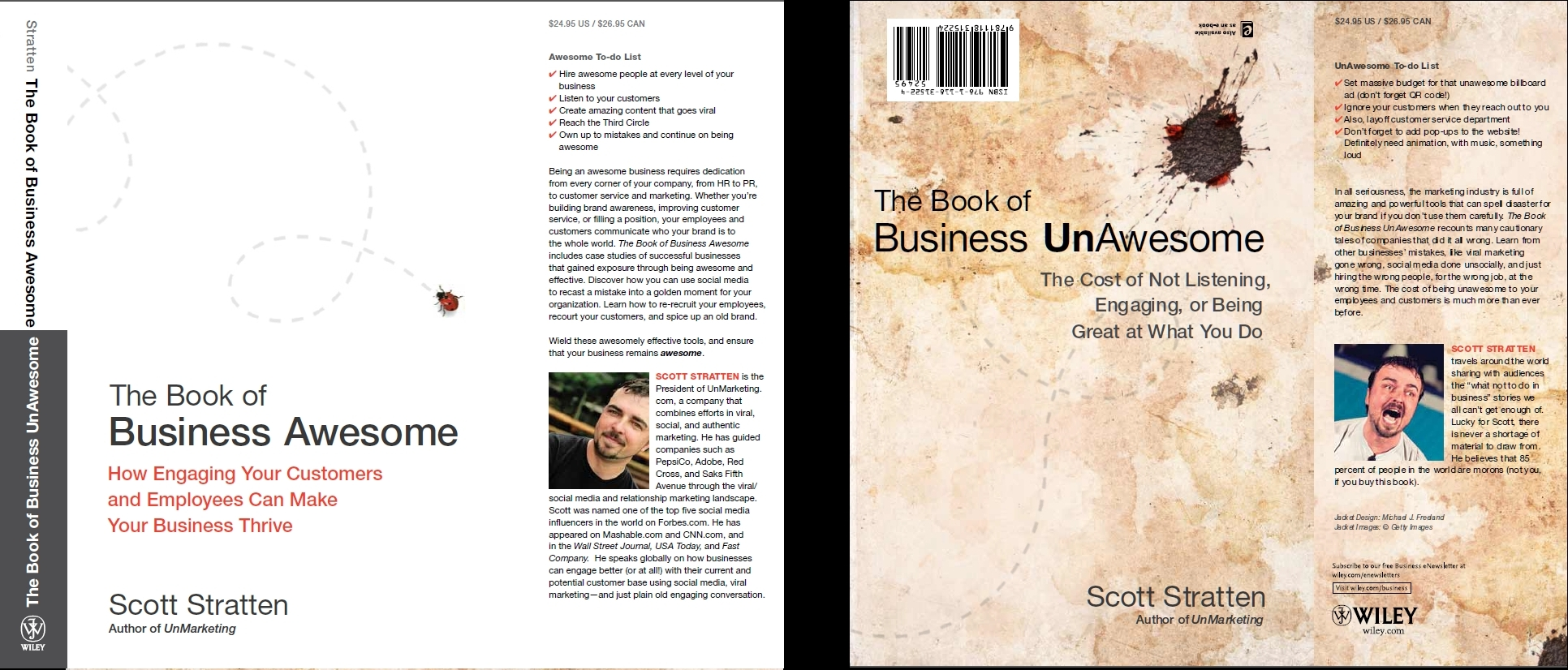 Scott Stratten Business Awesome book