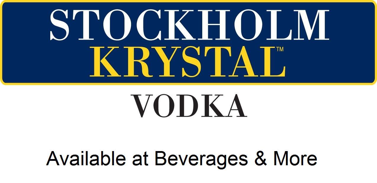 Stockholm Krystal Vodka