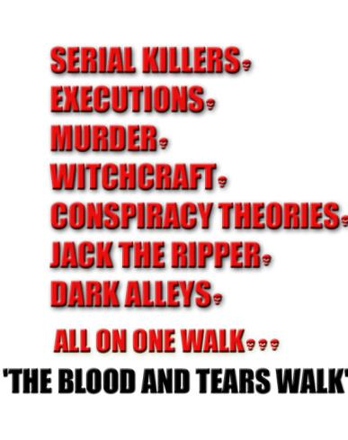 What's included in 'The Blood and Tears Walk'