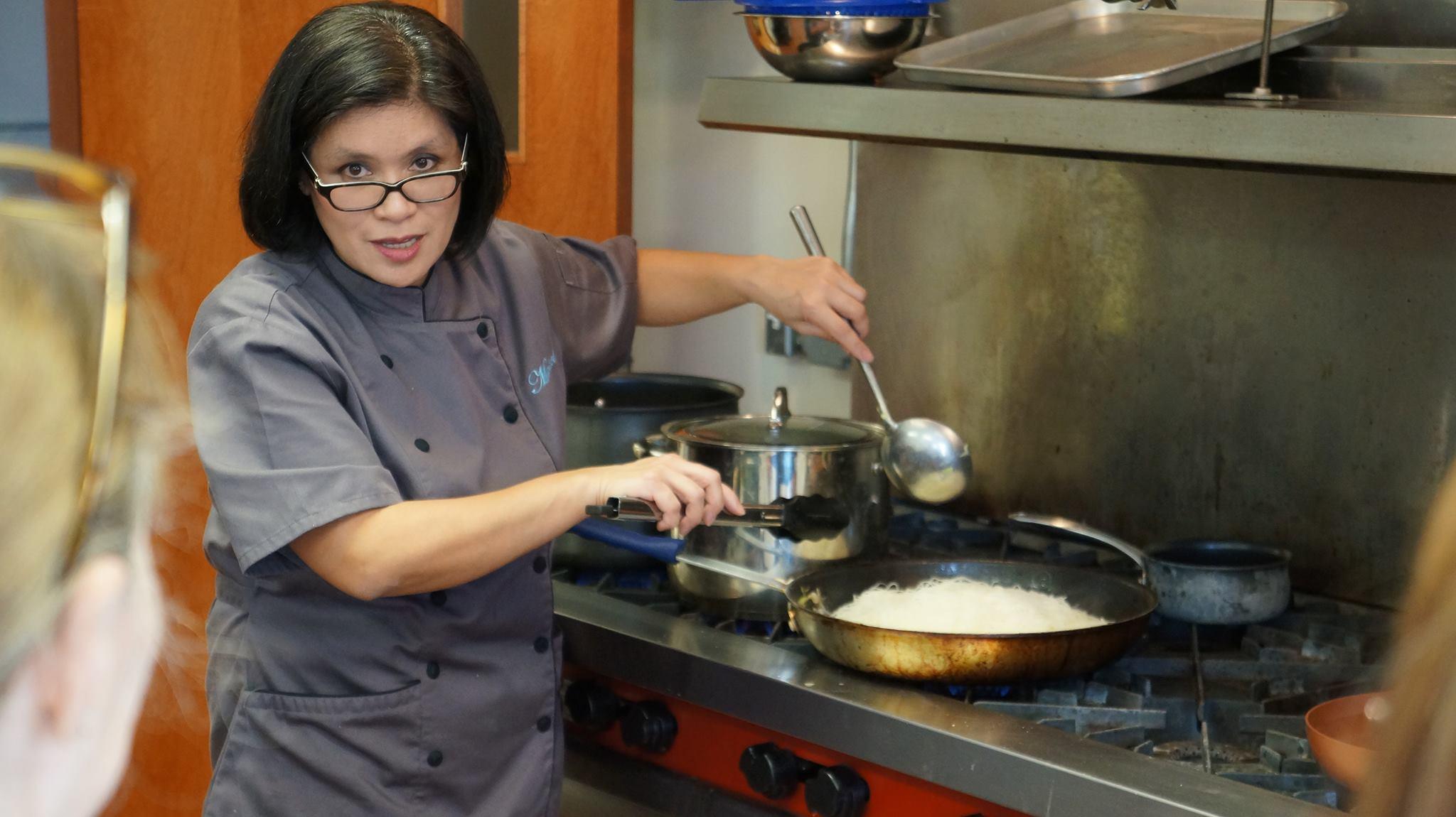 Maricel Cooking Demo