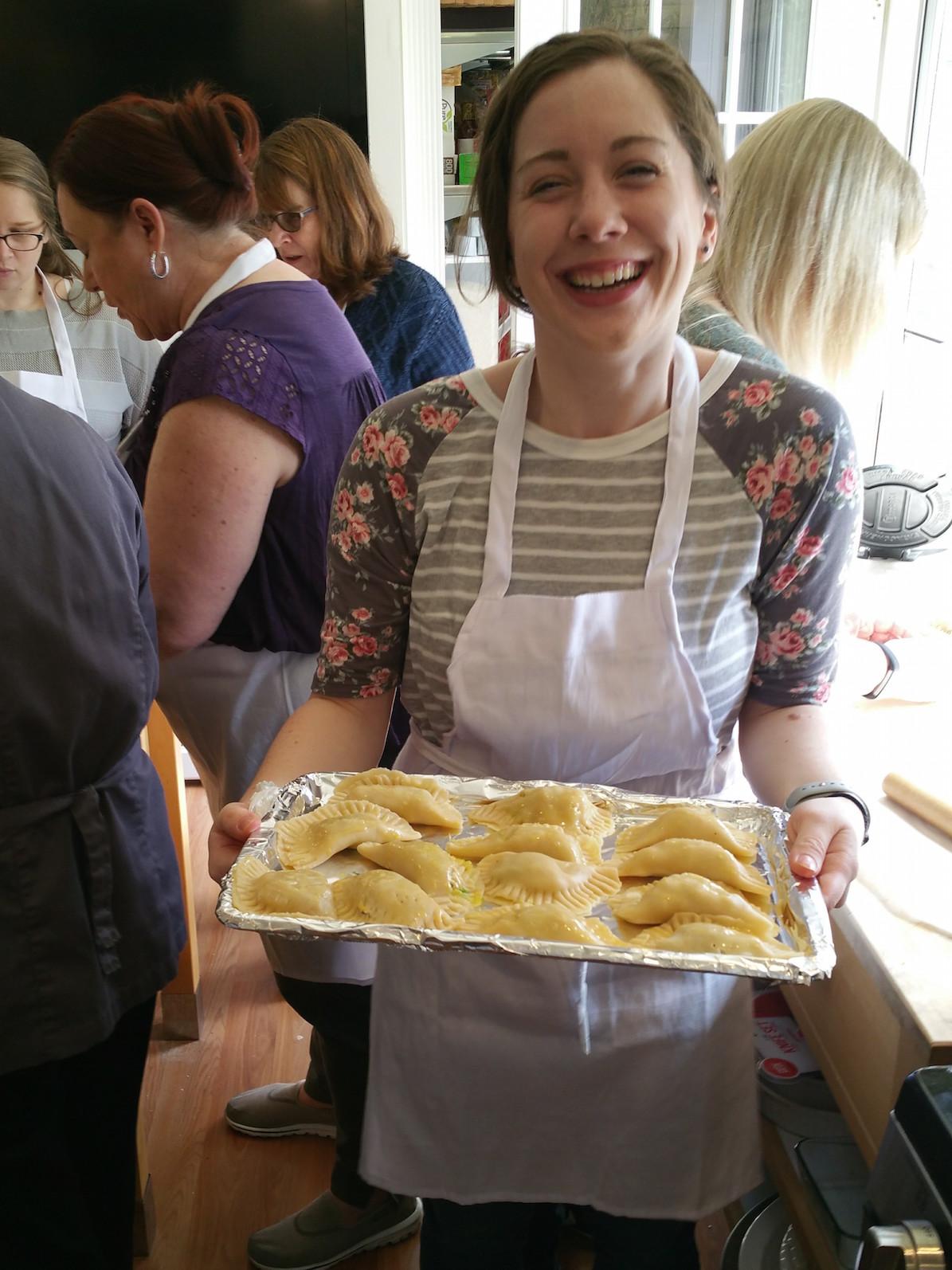 Maricel's Kitchen DIY Empanada Class
