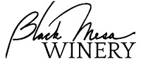 Black Mesa Winery logo and link to website