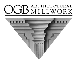 OGB Architectural Millwork logo and website link