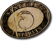 Santa Fe Spirits logo and link to website