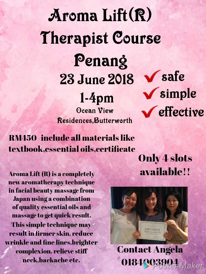 Therapist course in Penang
