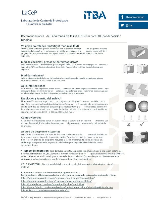 Especificaciones de archivos para imprimir 2