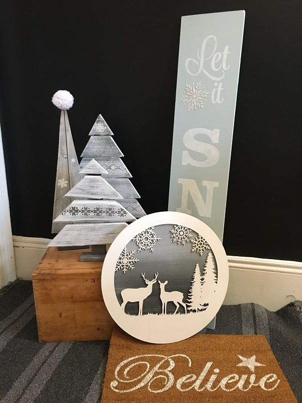 White Christmas Samples
