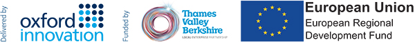 Berkshire Growth Hub is funded by the European Regional Development Fund and the Thames Valley Local Enterprise Partnership and is delivered by Oxford Innovation