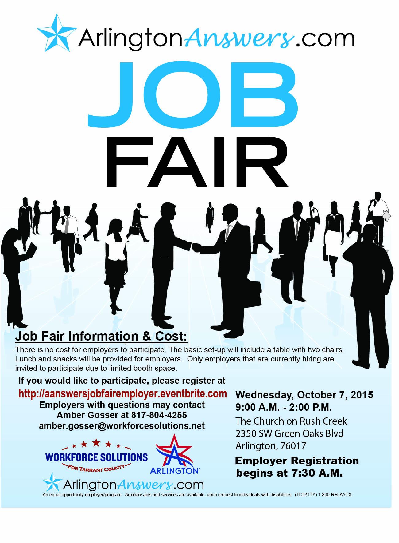 Sample job fair flyer fieldstation sample job fair flyer stopboris Choice Image