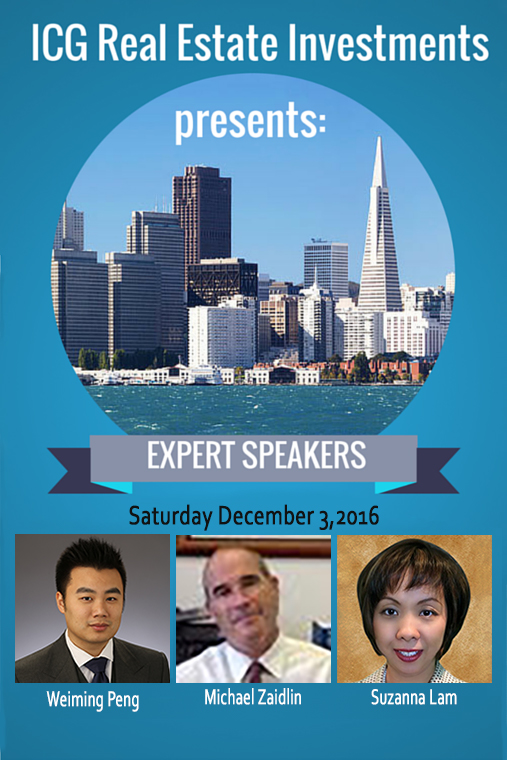Speakers for December 2016 Expo
