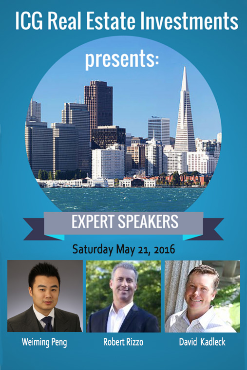 Speakers for May 21, 2016 Expo