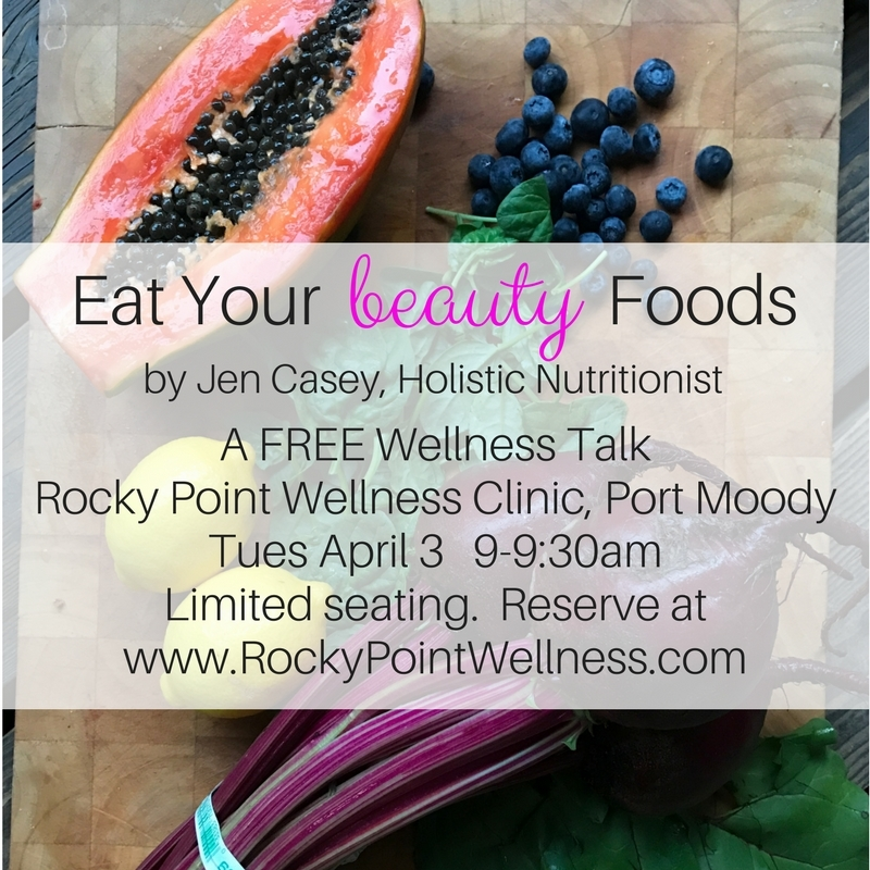 Eat Your Beauty Foods: A Free Wellness Talk