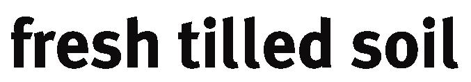 Fresh Tilled Soil Logo