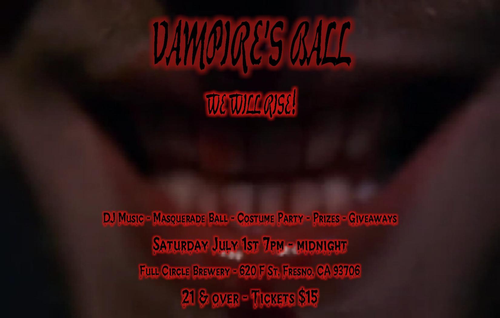 Vampire's Ball - Costume Party