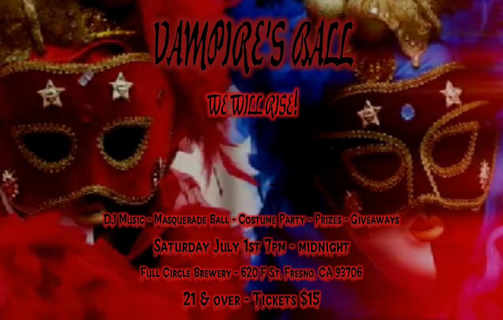 Vampire's Ball - Masquerade Ball