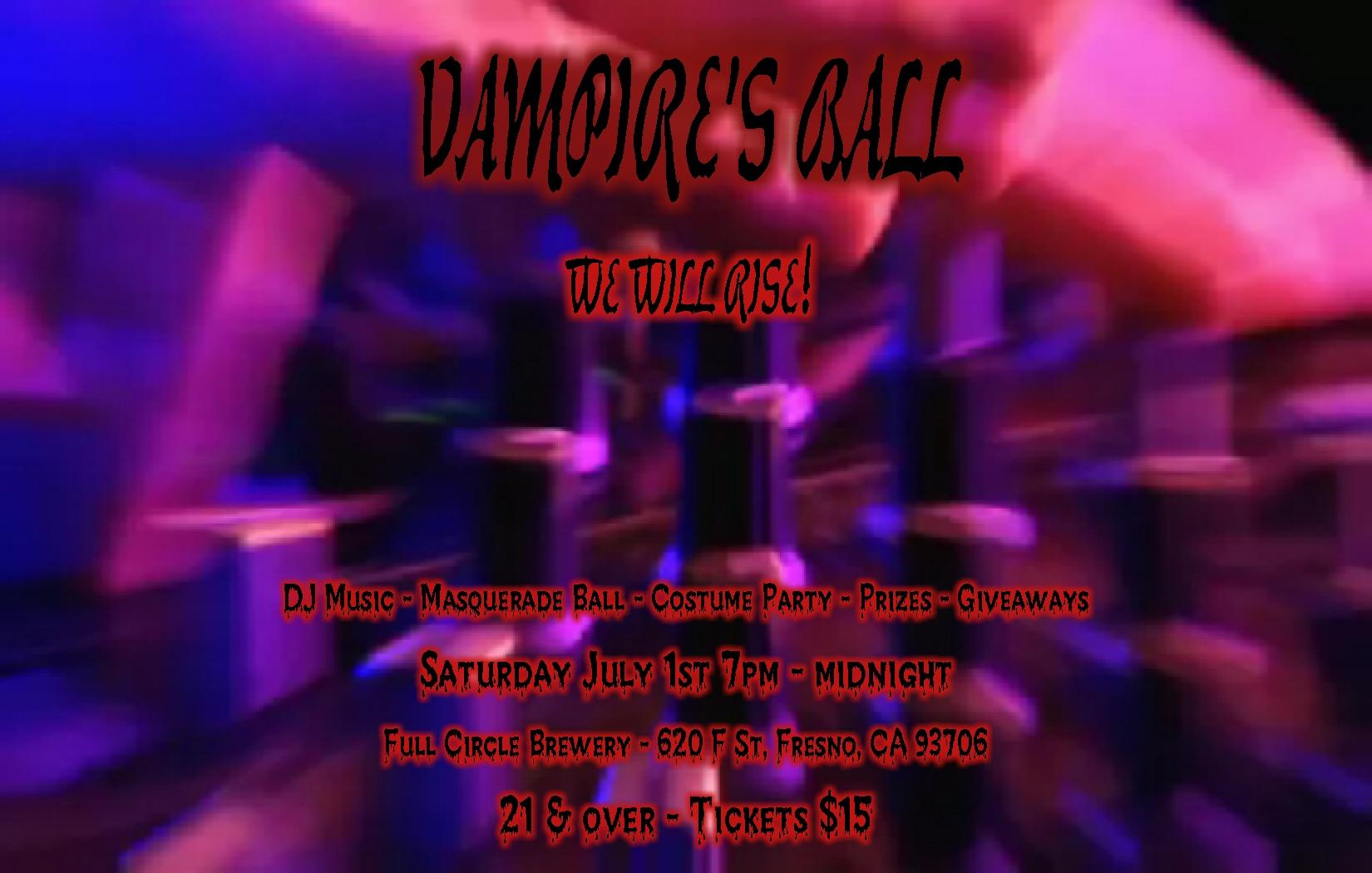 Vampire 's Ball - Music DJ