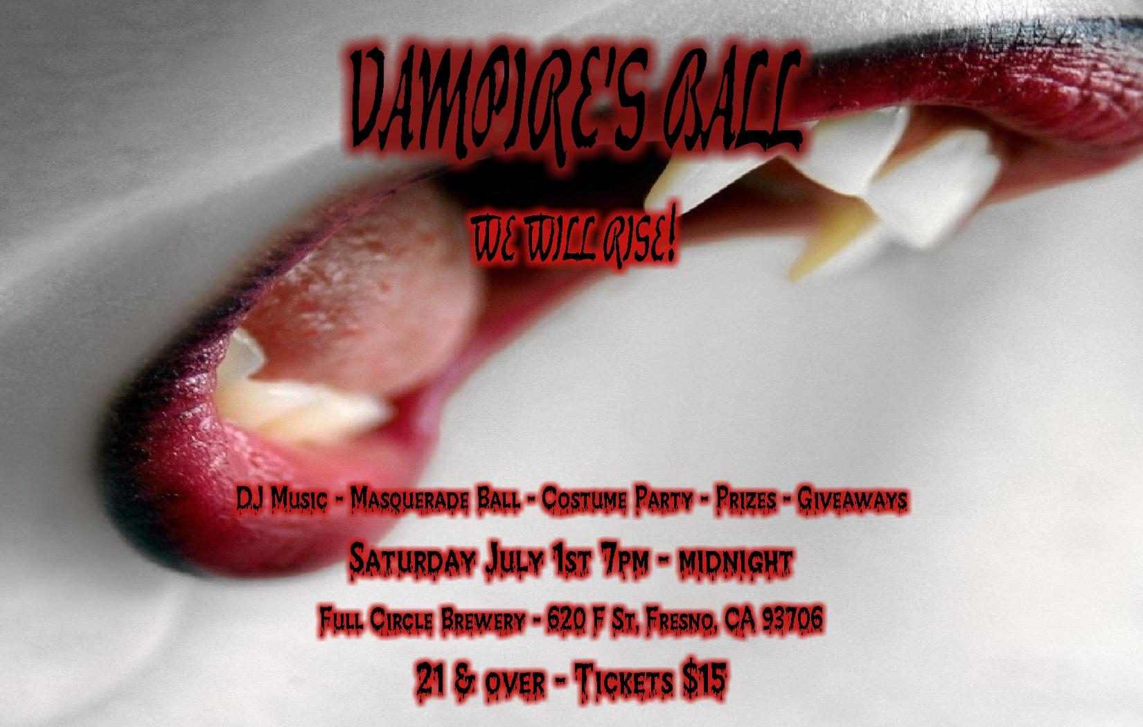 Vampire's Ball - We Will RISE!