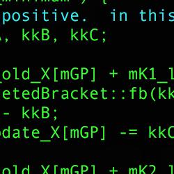 C++ code