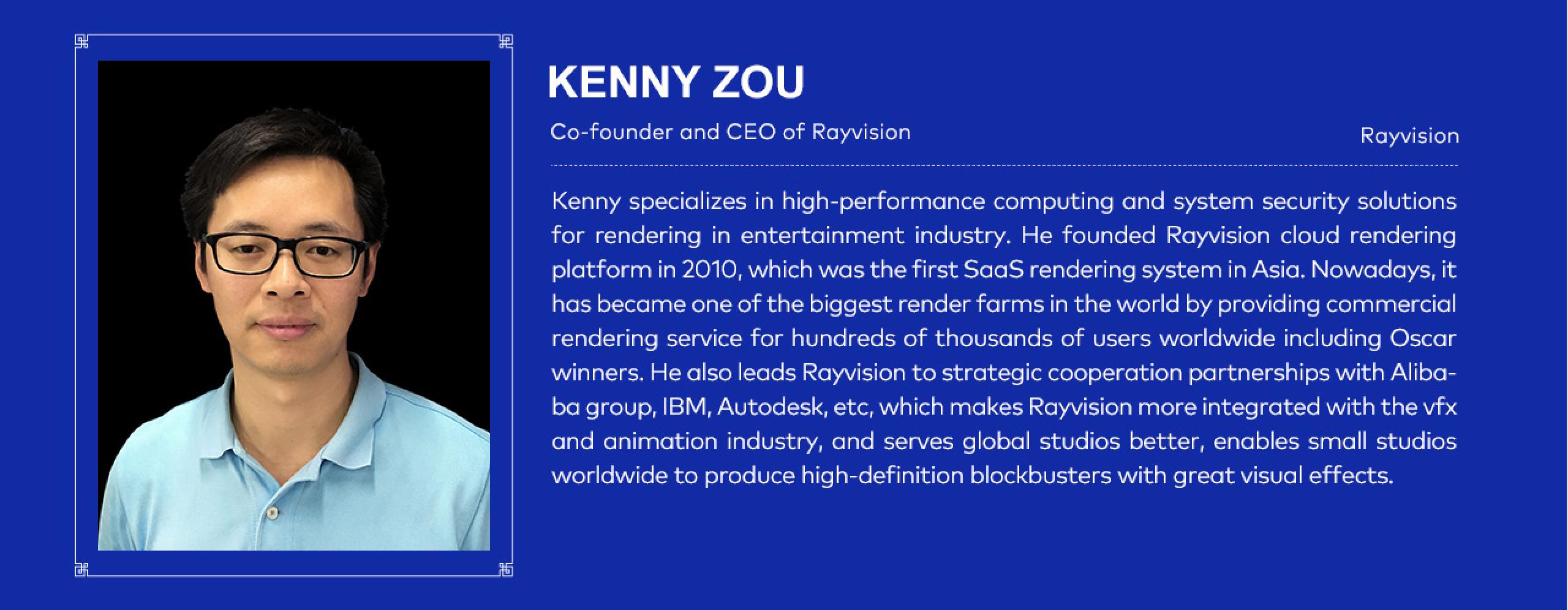 Kenny Zou - Rayvision CEO