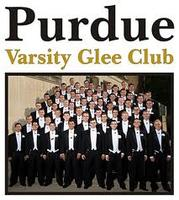 Purdue Glee Club in Cincinnati - February 1, 2013 at 7:30PM
