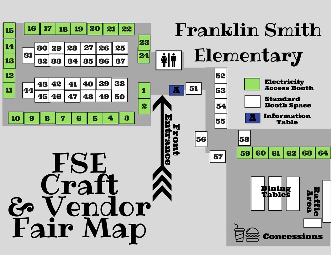 Map & Booth Layout