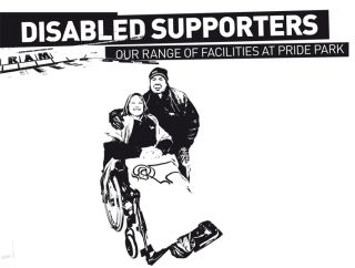 image of disabled supporters