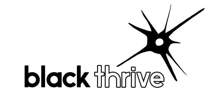 Black Thrive Logo