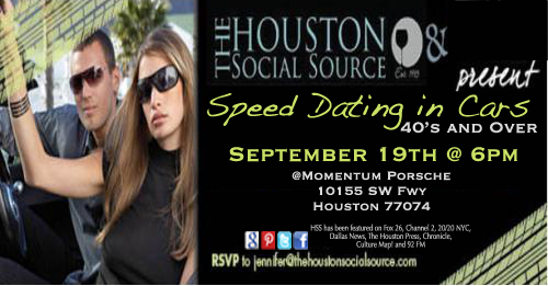 Free speed dating in houston tx