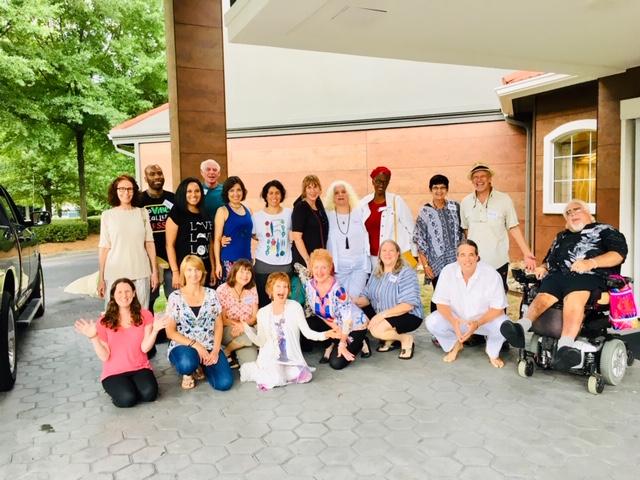 July Journey into Awakening attendees
