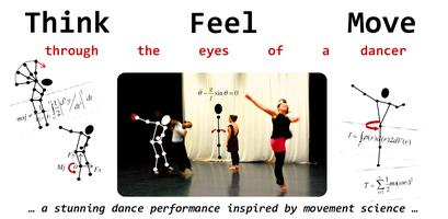 Think Feel Move: Through the eye of a dancer (at the...