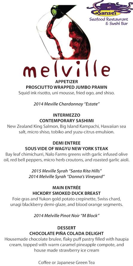 Melville Menu