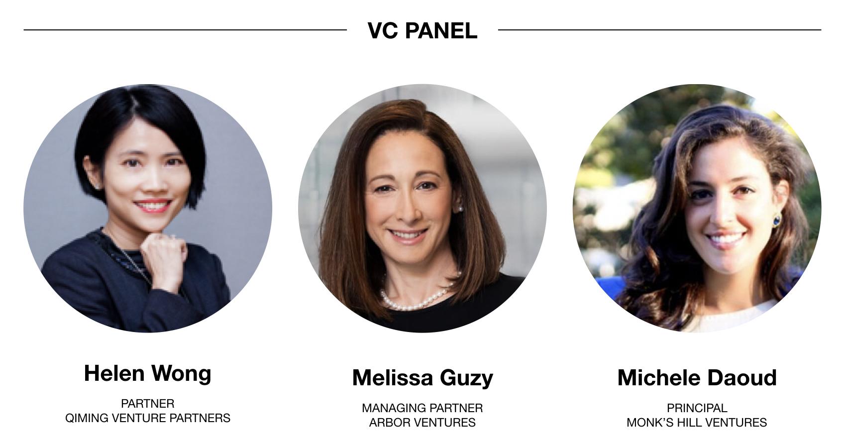 Women Who Pitch - VC Panel