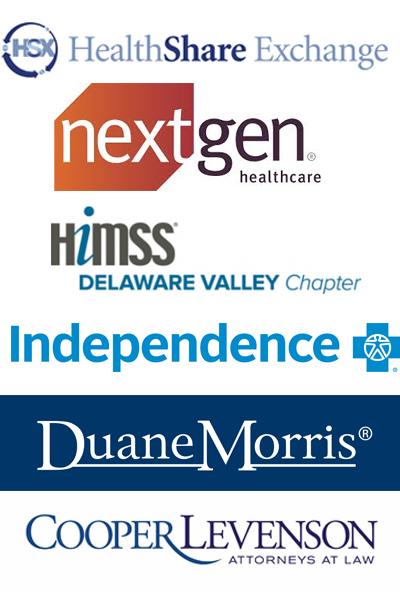 Sponsors: HealthShare Exchange, NextGen, Independence Blue Cross, HMISS, CooperLevenson, Duane Morris
