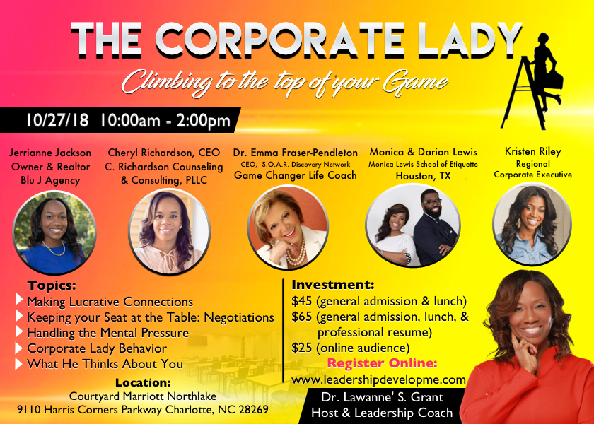The Corporate Lady 2018