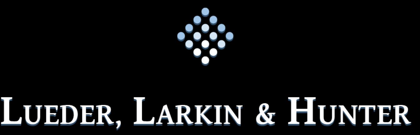Lueder Larkin and Hunter Logo