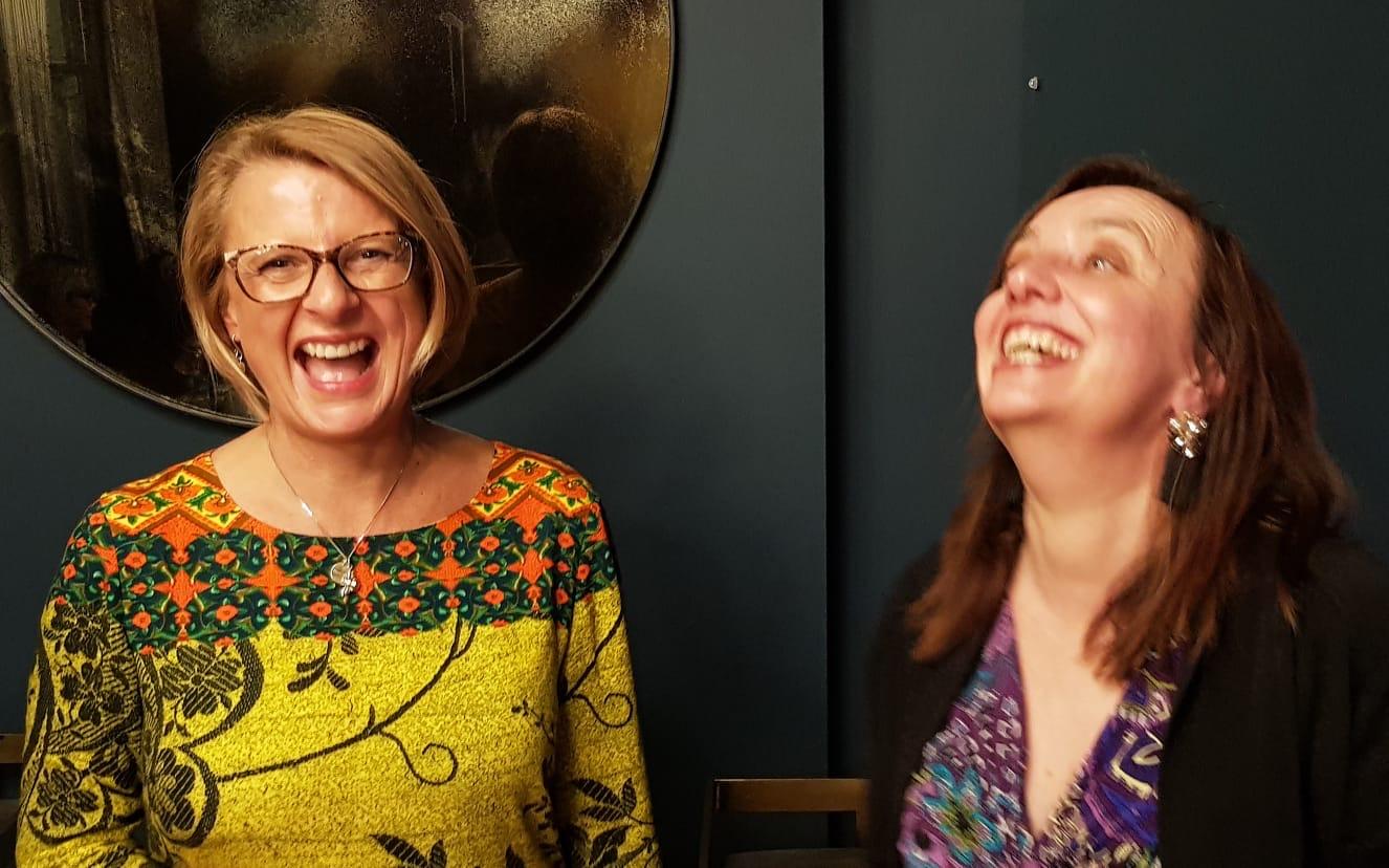 Rachel McGuinness and Paula Gardner