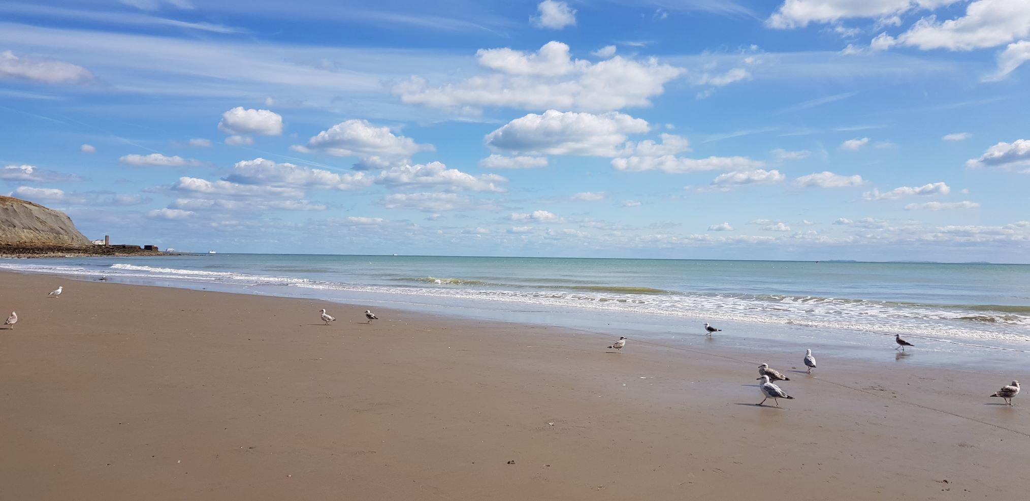 Folkstone beach