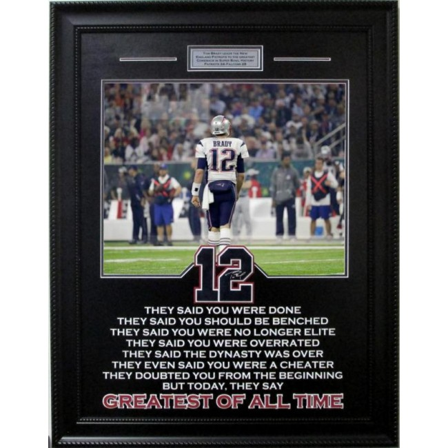 Tom Brady Quote Piece